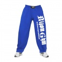 Bizon Gym Tepláky 102 - modrá/bílá
