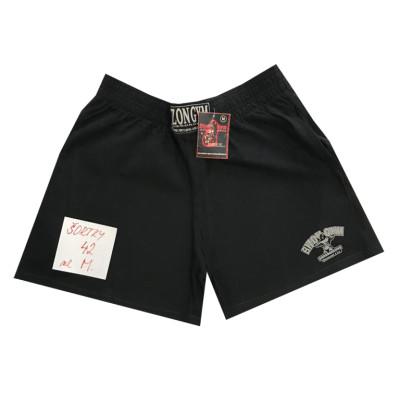 Černé šortky s malým logem na nohavici velikost M