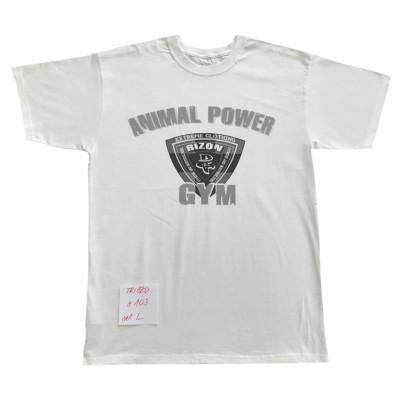 Bílé triko s motivem velikost L